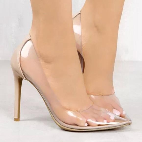 c573fbdc9a93 ... Inspired Clear Cinderella Heels. M 5b9fd1eebb761574bc473c88